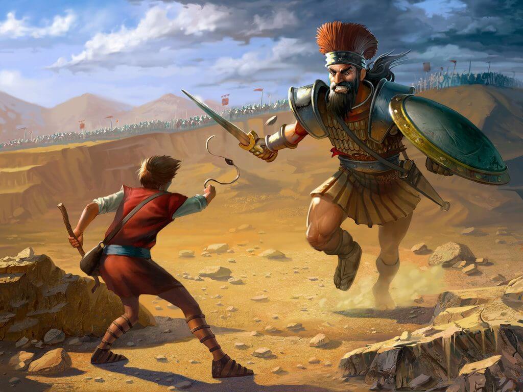 Davi e Golias: A arte de Enfrentar Gigantes