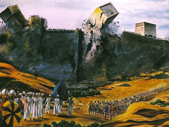 Derrubando a muralha pela Fé (Josué 6: 20)