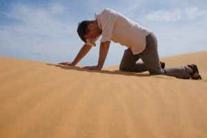 O que significa e como sair Deserto Espiritual?