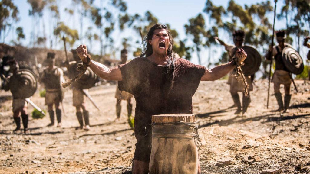 Sansão pediu e recebeu força física de Deus