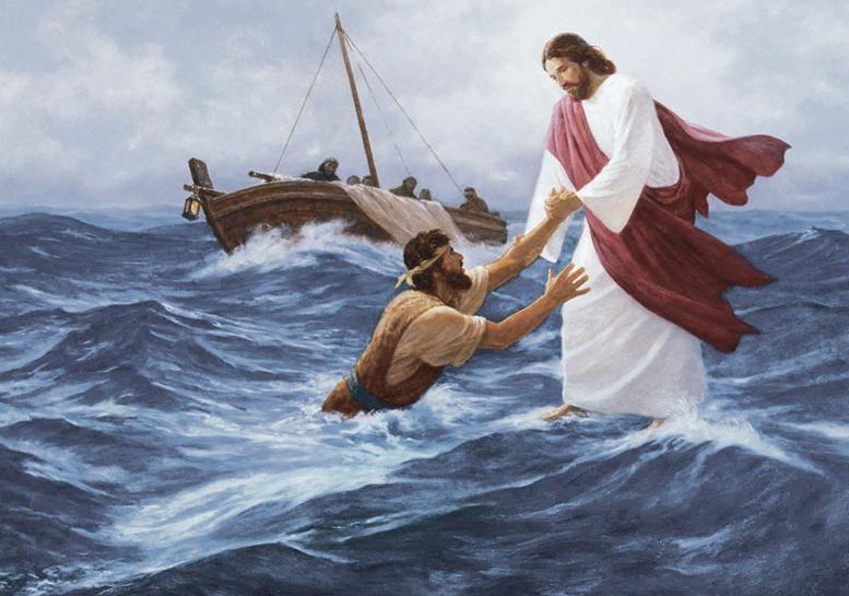 4 lições extraídas da passagem em que Pedro anda sobre as águas
